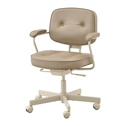 ALEFJÄLL - Office chair, Grann beige