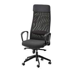 MARKUS - Office chair, Vissle dark grey