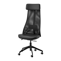 JÄRVFJÄLLET - Office chair, Glose black