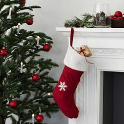 VINTER 2020 - Christmas stocking, red