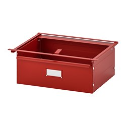 IVAR - Drawer, red