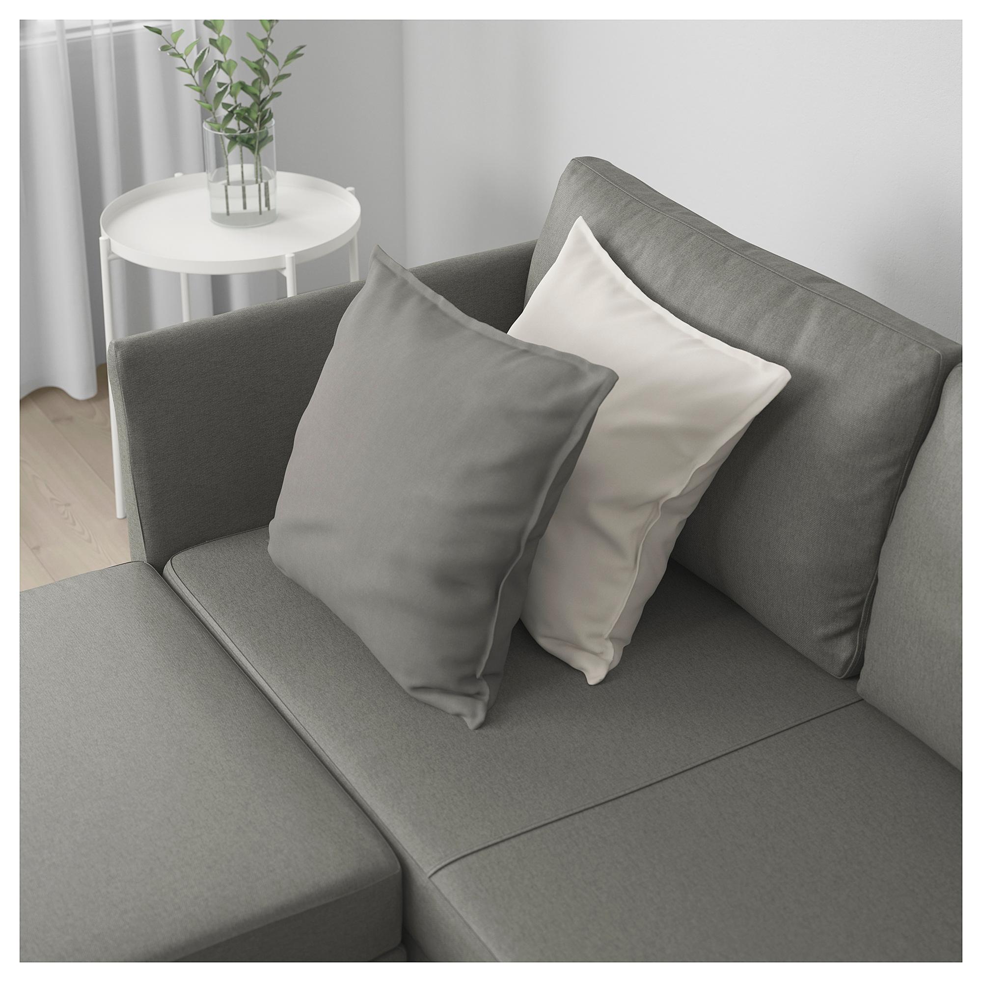 Br 197 Thult Corner Sofa Bed Borred Grey Green Ikea Indonesia