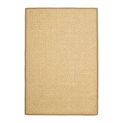 VISTOFT - Rug, flatwoven, natural
