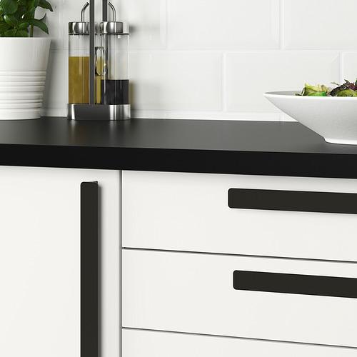 HACKÅS - gagang, antrasit, 300 mm | IKEA Indonesia - PE833882_S4