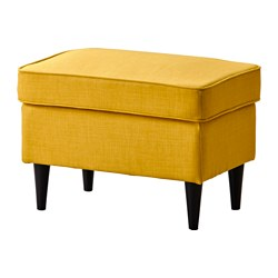 STRANDMON - Bangku kaki, Skiftebo kuning