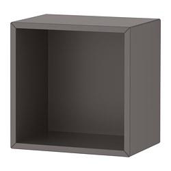 EKET - EKET, kabinet, abu-abu tua, 35x25x35 cm