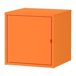 LIXHULT - Kabinet, logam/oranye