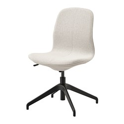 LÅNGFJÄLL - Conference chair, Gunnared beige/black