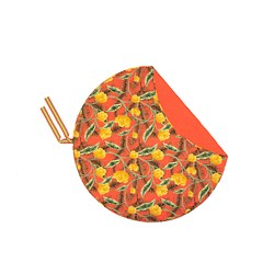 SOLBLEKT - Selimut piknik, corak berbunga oranye