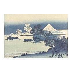 PJÄTTERYD - PJÄTTERYD, gambar, View of Mount Fuji, 100x70 cm