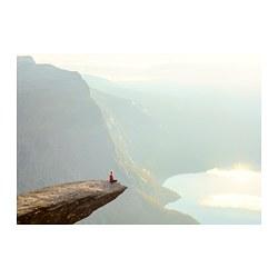 PJÄTTERYD - PJÄTTERYD, gambar, Trolltunga, Norway, 100x70 cm