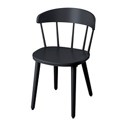 OMTÄNKSAM - Chair, anthracite