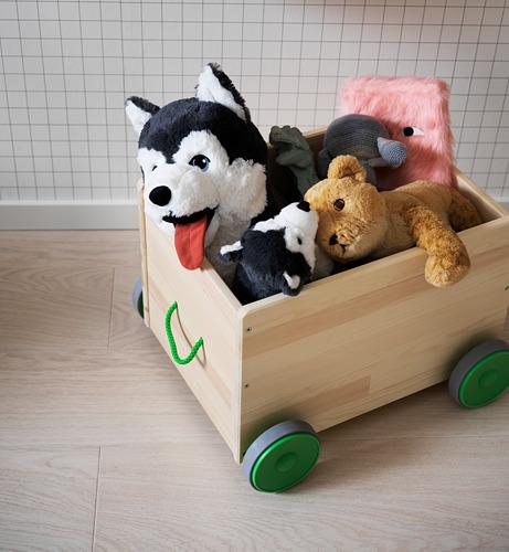 FLISAT toy storage with wheels