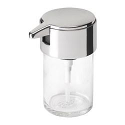 KALKGRUND - Soap dispenser, chrome-plated