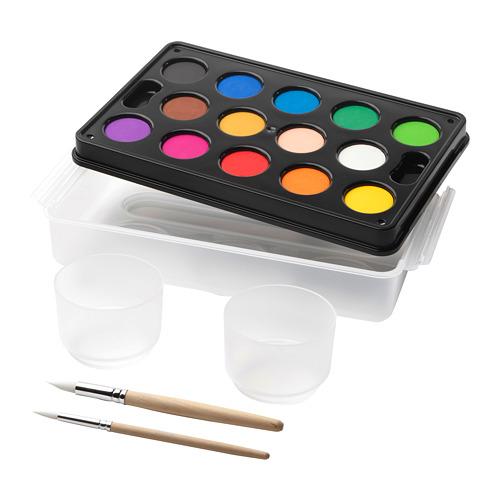 MÅLA - watercolour box, mixed colours | IKEA Indonesia - PE645058_S4