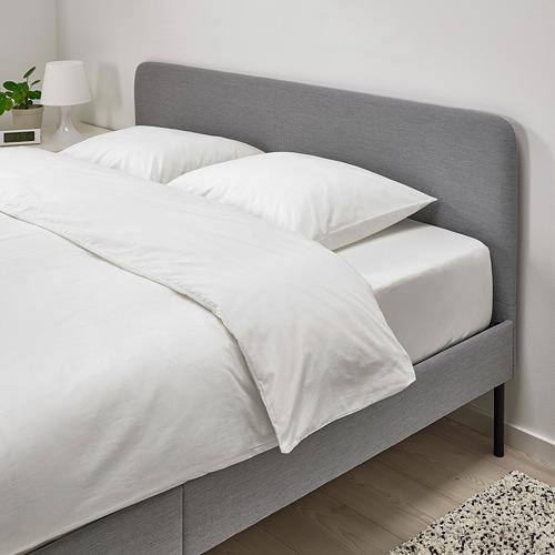 SLATTUM rangka tempat tidur berpelapis