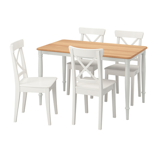DANDERYD/INGOLF meja dan 4 kursi