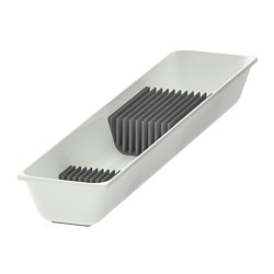 VARIERA - Knife tray, white