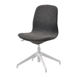 LÅNGFJÄLL - Conference chair, Gunnared dark grey/white