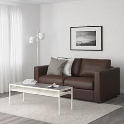 VIMLE - Sofa 2 dudukan, Farsta cokelat tua