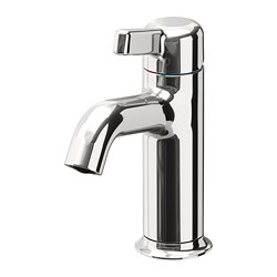VOXNAN - Wash-basin mixer tap with strainer, chrome-plated