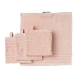 VÅGSJÖN - Handuk kecil, pink pucat