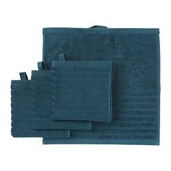 VÅGSJÖN - Handuk kecil, biru tua