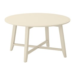 KRAGSTA - Coffee table, light beige