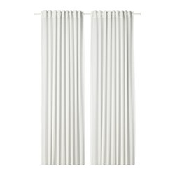 HILJA - HILJA, curtains, 1 pair, white, 145x250 cm