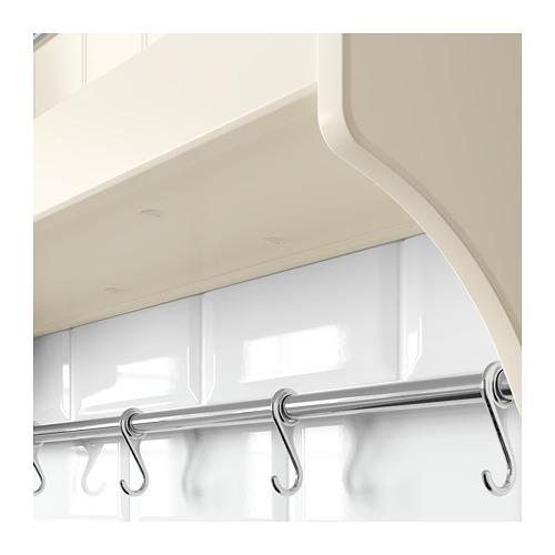 TORNVIKEN plate shelf