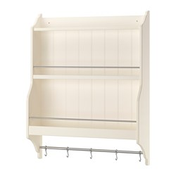 TORNVIKEN - Plate shelf, off-white