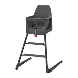 LANGUR - Junior/highchair with tray, grey