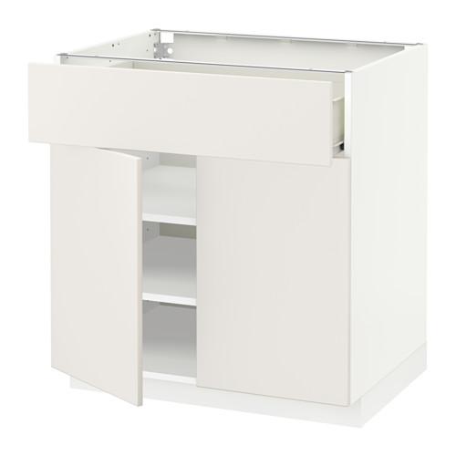 FÖRVARA/METOD kabinet dasar dengan laci/2 pintu