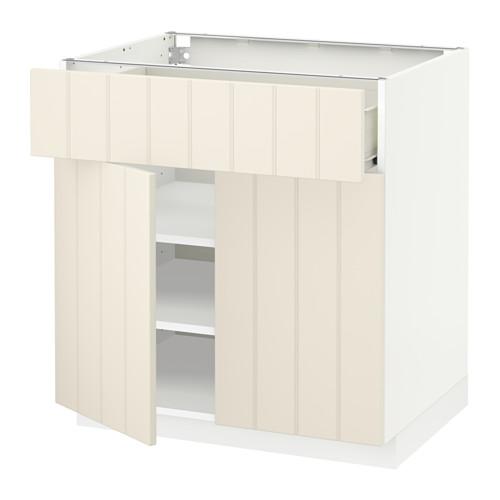 METOD/FÖRVARA kabinet dasar dengan laci/2 pintu