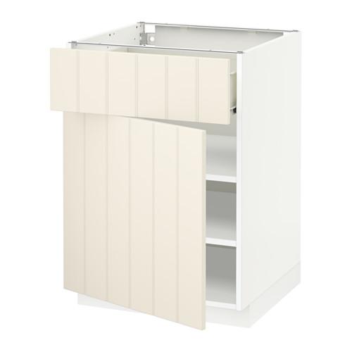 METOD/FÖRVARA kabinet dasar dengan laci/pintu