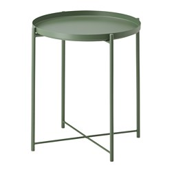 GLADOM - Meja baki, hijau tua