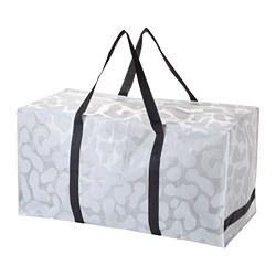 OMBYTE - Bag, white/black/transparent