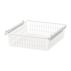 STUVA GRUNDLIG - Wire basket, white