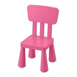 MAMMUT - Kursi anak, dalam/luar ruang/merah muda