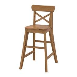 INGOLF - Junior chair, antique stain
