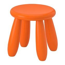 MAMMUT - Bangku kecil anak, dalam/luar ruang/oranye