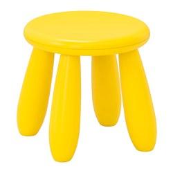 MAMMUT - Children's stool, in/outdoor/yellow