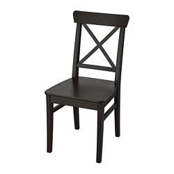 INGOLF - Kursi, cokelat-hitam