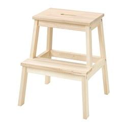 BEKVÄM - Step stool, aspen