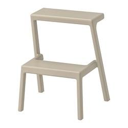 MÄSTERBY - Step stool, beige