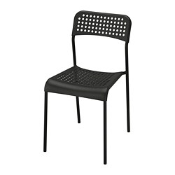 ADDE - Chair, black
