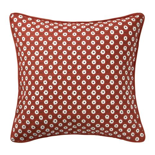 SNÖBRÄCKA - sarung bantal kursi, merah putih/pola bunga, 50x50 cm | IKEA Indonesia - PE776564_S4
