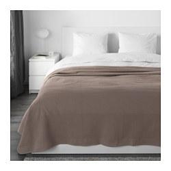 INDIRA - Penutup tempat tidur , cokelat muda