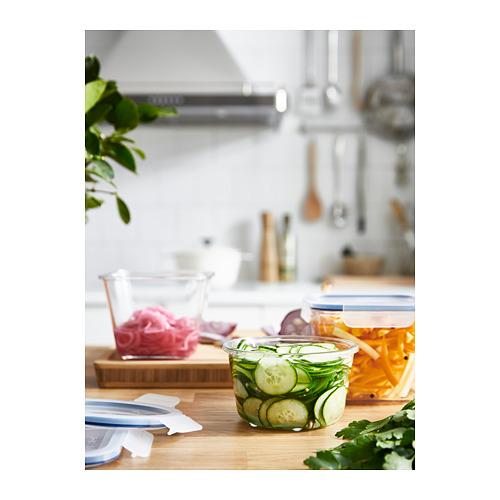 IKEA 365+ kotak makan dengan penutup