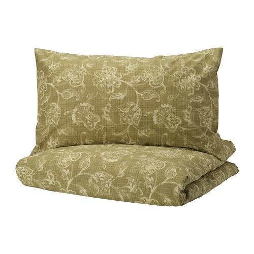 JUNIMAGNOLIA sarung quilt dan 2 sarung bantal